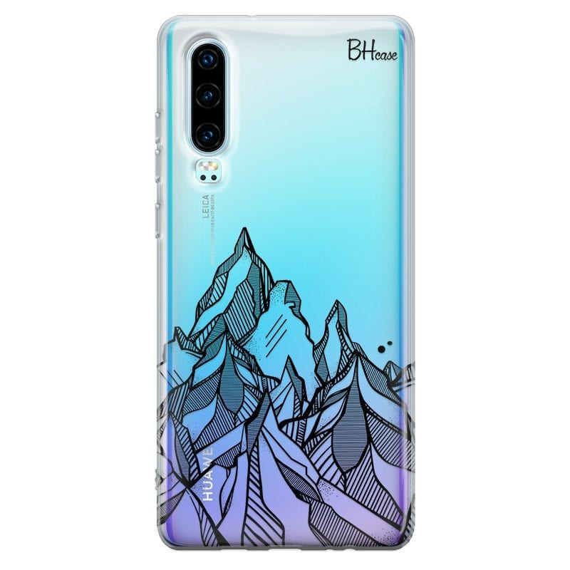Mountains Geometric Case Huawei P30