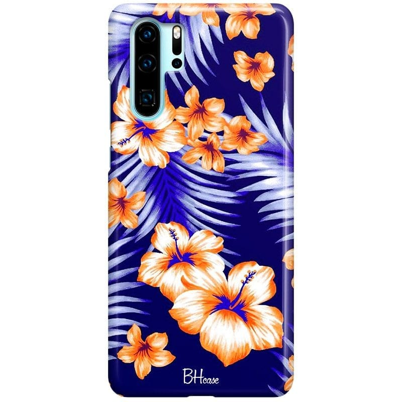 Night Floral Case Huawei P30 Pro