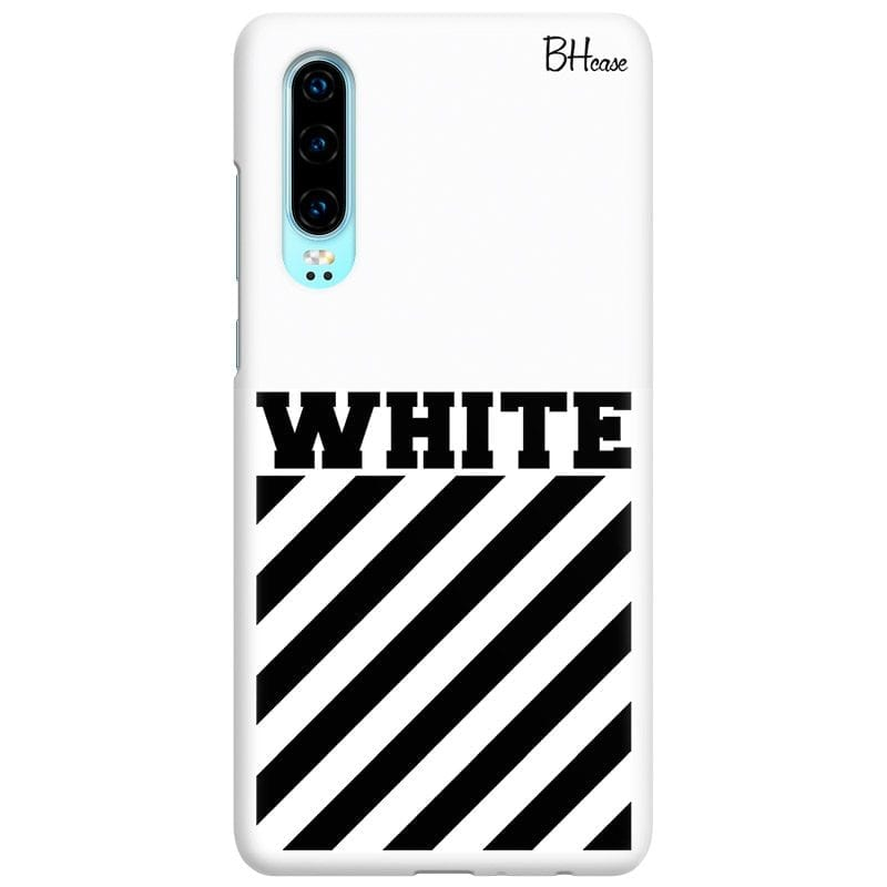 Off White Case Huawei P30