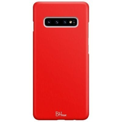 Red Apple Color Case Samsung S10