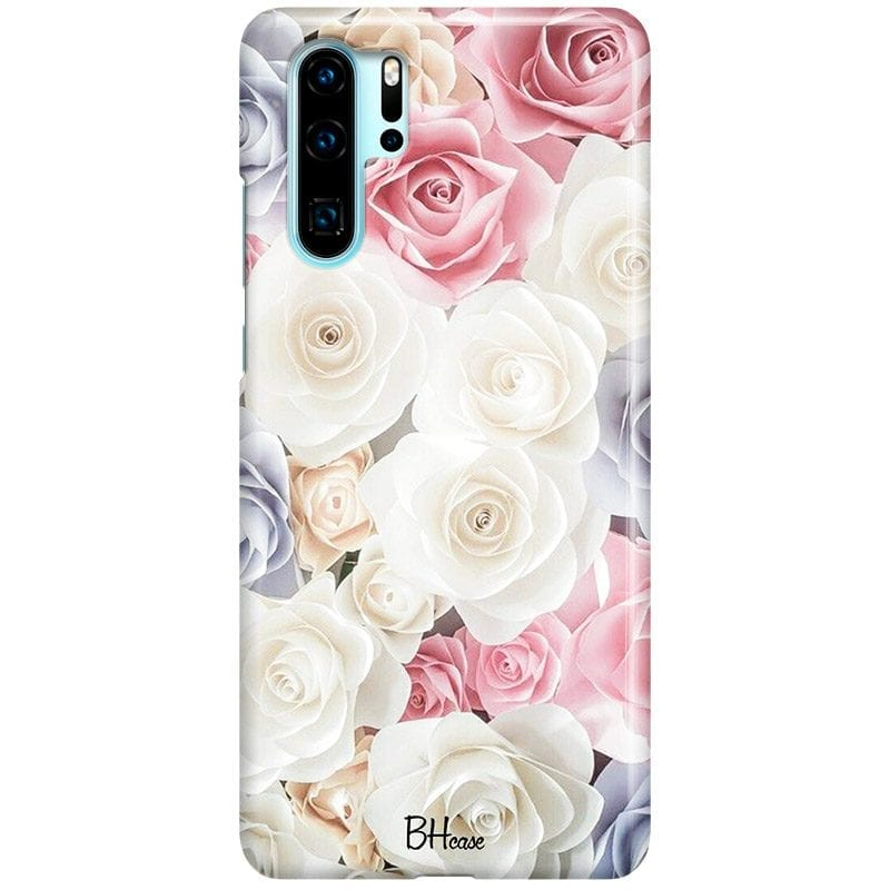 Roses Old Case Huawei P30 Pro