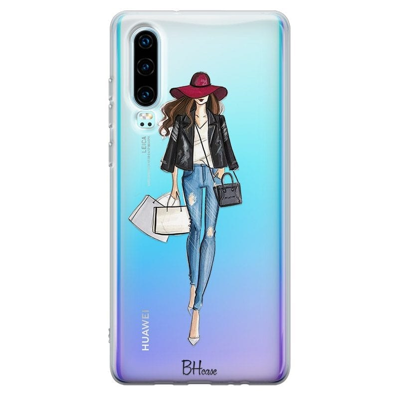 Shopping Girl Case Huawei P30
