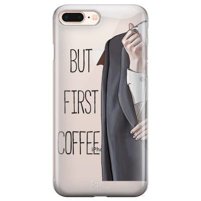 Coffee First Case iPhone 7 Plus/8 Plus