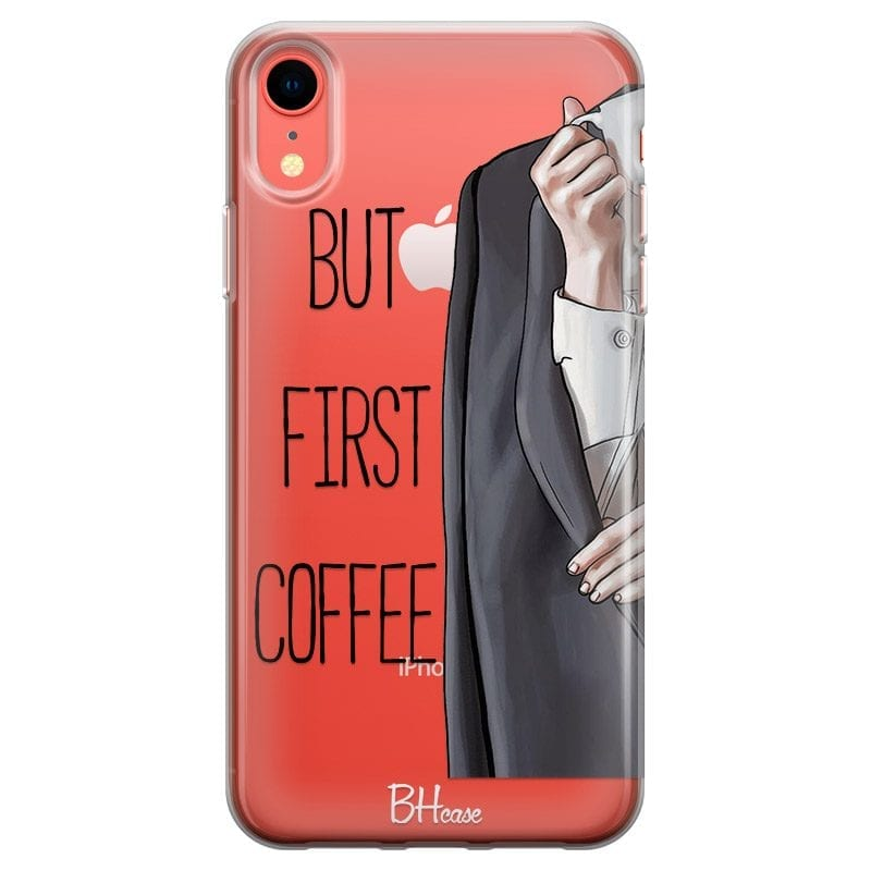 Coffee First Case iPhone XR