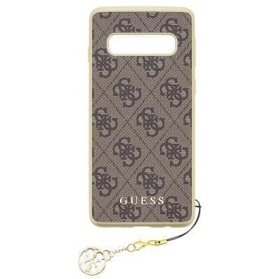 Guess Charms 4G Brown Case Samsung S10