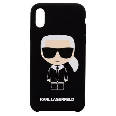 Karl Lagerfeld Ikonic Silicone Case iPhone XR