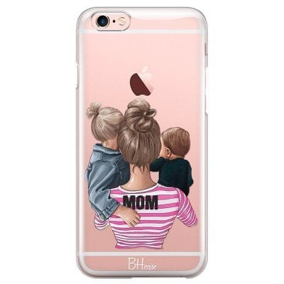 Mom Of Boy And Girl Case iPhone 6/6S