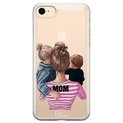 Mom Of Boy And Girl Case iPhone 7/8