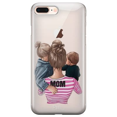 Mom Of Boy And Girl Case iPhone 7 Plus/8 Plus