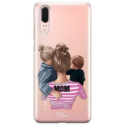 Mom Of Boy And Girl Case Huawei P20