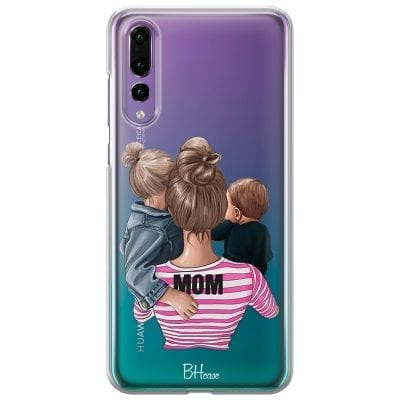 Mom Of Boy And Girl Case Huawei P20 Pro