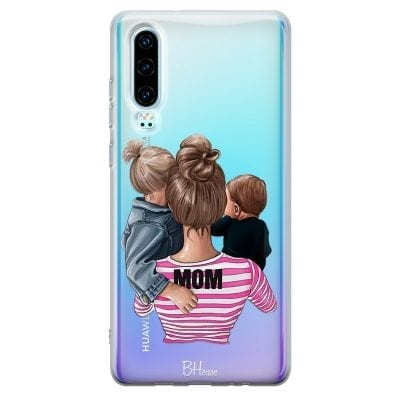 Mom Of Boy And Girl Case Huawei P30