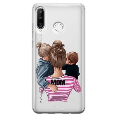 Mom Of Boy And Girl Case Huawei P30 Lite