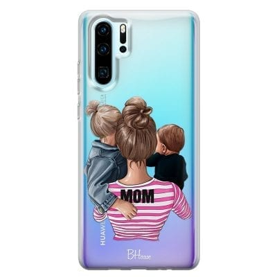 Mom Of Boy And Girl Case Huawei P30 Pro