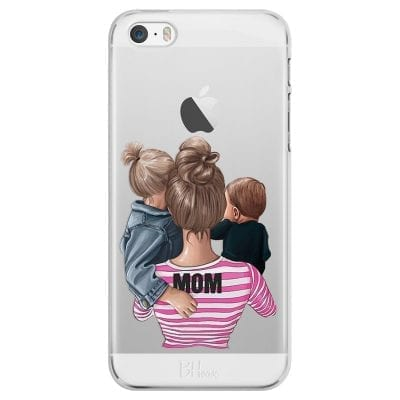 Mom Of Boy And Girl Case iPhone SE/5S
