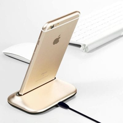 Baseus Desktop Charging Station Lightning Gold