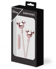 Disney Stereo Earphones 3.5mm Mickey Mirror Rose Gold