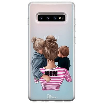 Mom Of Boy And Girl Case Samsung S10 Plus