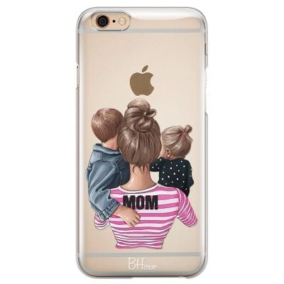 Mom Of Girl And Boy Case iPhone 6/6S