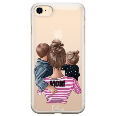Mom Of Girl And Boy Case iPhone 7/8