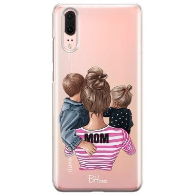 Mom Of Girl And Boy Case Huawei P20