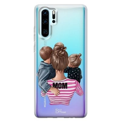 Mom Of Girl And Boy Case Huawei P30 Pro
