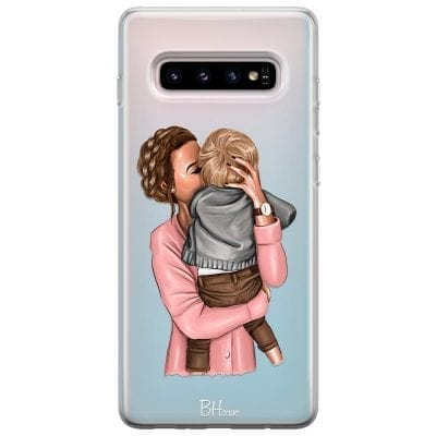 Mom With Baby Case Samsung S10 Plus