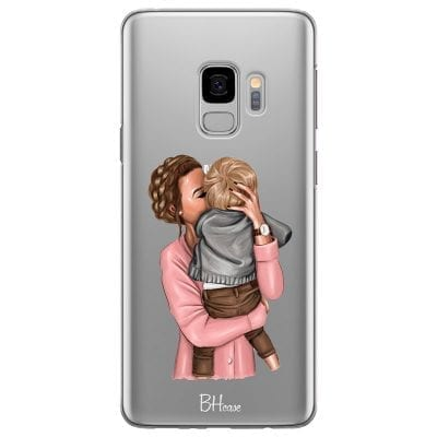 Mom With Baby Case Samsung S9