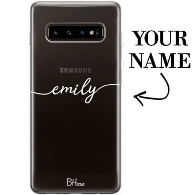 Case with name for Samsung S10 Plus