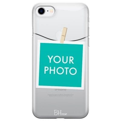 Case with photo in frame for iPhone 7/8
