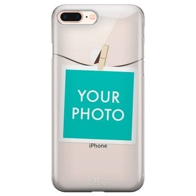 Case with photo in frame for iPhone 7 Plus/8 Plus