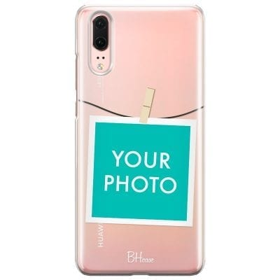 Case with photo in frame for Huawei P20