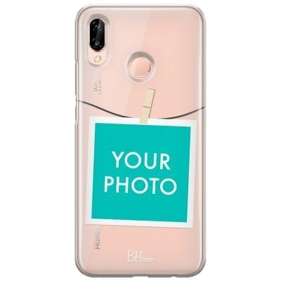 Case with photo in frame for Huawei P20 Lite/Nova 3E