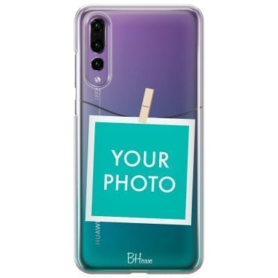 Case with photo in frame for Huawei P20 Pro