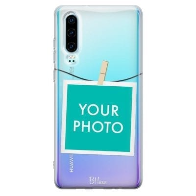 Case with photo in frame for Huawei P30