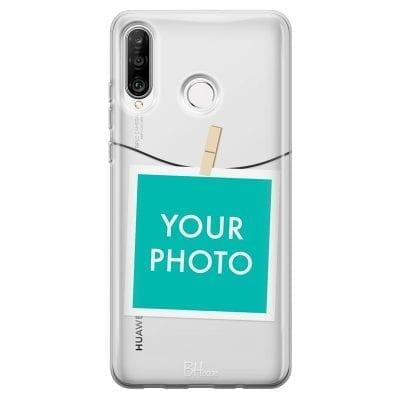 Case with photo in frame for Huawei P30 Lite