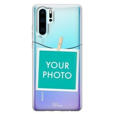 Case with photo in frame for Huawei P30 Pro