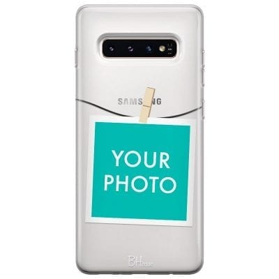 Case with photo in frame for Samsung S10