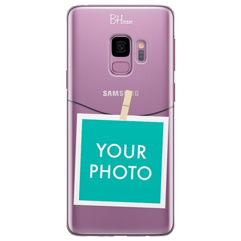 Case with photo in frame for Samsung S9