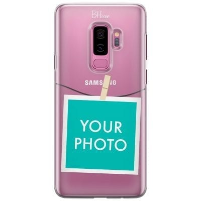 Case with photo in frame for Samsung S9 Plus