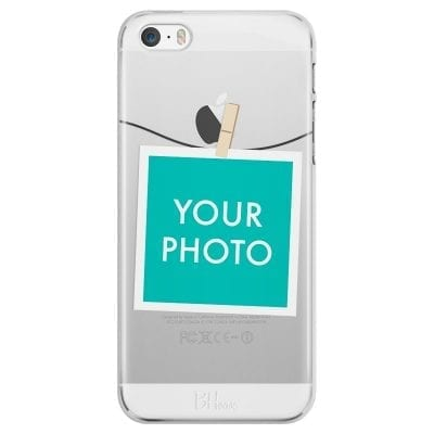 Case with photo in frame for iPhone SE/5S