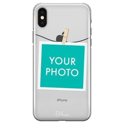 Case with photo in frame for iPhone XS Max