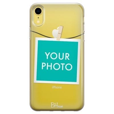 Case with photo in frame for iPhone XR