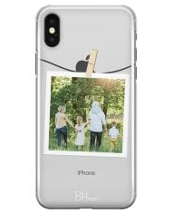 Case with photo in frame for iPhone X/XS