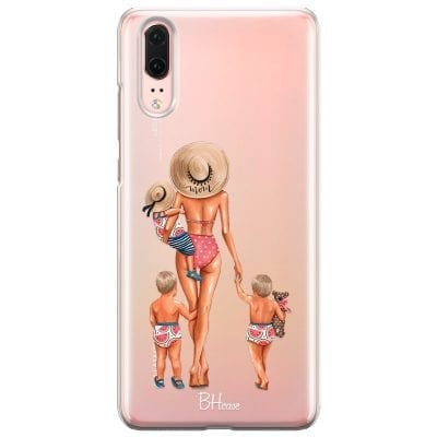 Beach Day Boys Blonde Case Huawei P20