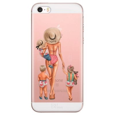 Beach Day Family Blonde Case iPhone SE/5S