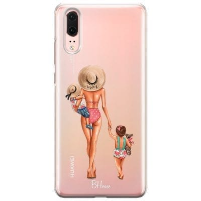 Beach Day Girl Case Huawei P20