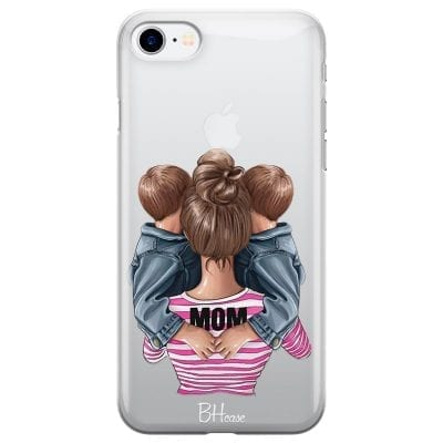 Mom Of Boy Twins Case iPhone 7/8