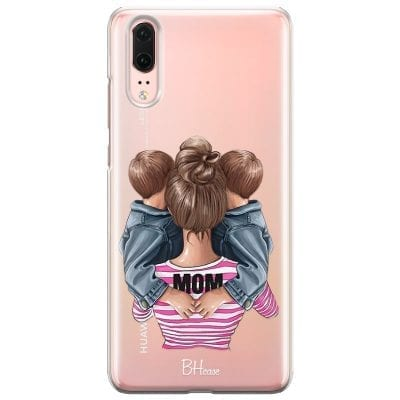 Mom Of Boy Twins Case Huawei P20
