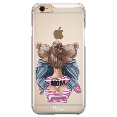 Mom Of Girl Twins Case iPhone 6/6S